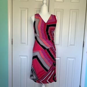 American Living multicolored fitting dress size 8